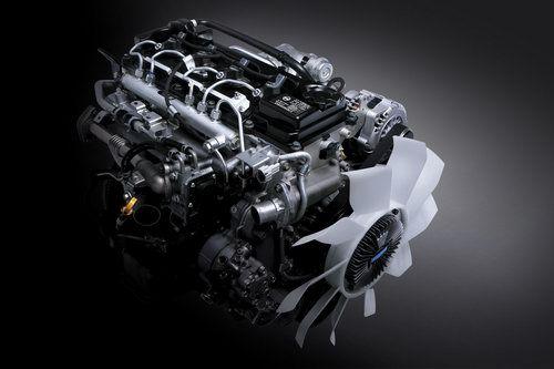 郑州日产推出Nissan ZD30柴油发动机锐骐皮卡车