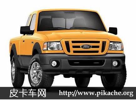 福特Ranger皮卡生产受阻 零部件短缺-皮卡车大全