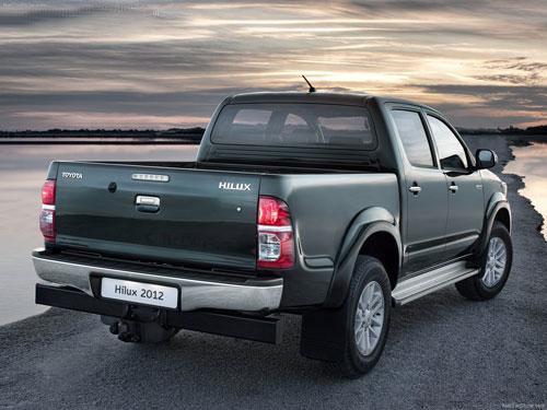 2012款丰田海拉克斯(Hilux)皮卡发布 全面升级-皮卡车大全