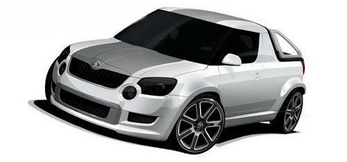 斯柯达推出与Yeti为基础的新型皮卡-皮卡车大全