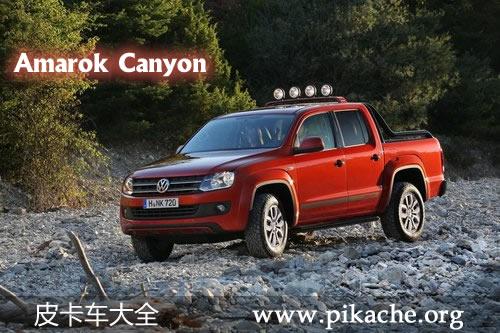 大众Amarok皮卡推出Canyon特别版车型 搭载2.0L TDI柴油引擎