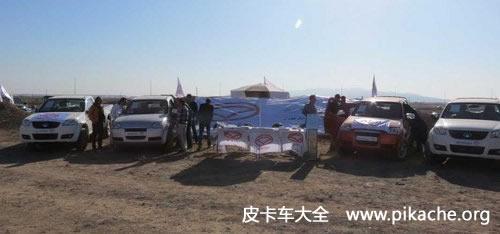 中国皮卡车国外夺冠 长城风骏皮卡斩获伊朗四驱拉力大赛桂冠