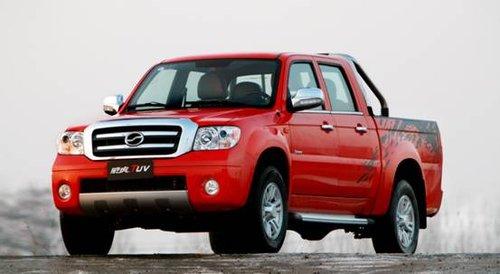 中国首款SUV型皮卡中兴威虎TUV即将上市
