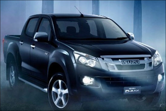 江西五十铃引进D-MAX皮卡  预计2014年上市