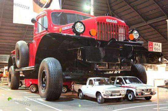 全球最大皮卡车 占地200平方米