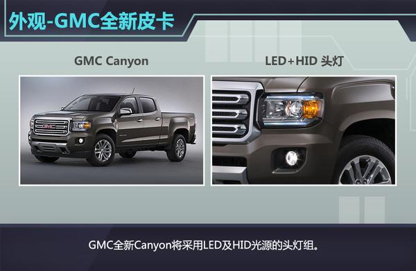 GMC即将推出全新皮卡canyon